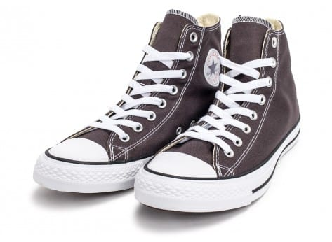 Chaussures Converse Chuck Taylor All-Star Mid grise vue intérieure