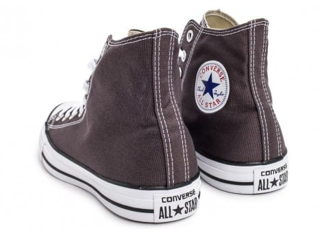 Chaussures Converse Chuck Taylor All-Star Mid grise vue dessous