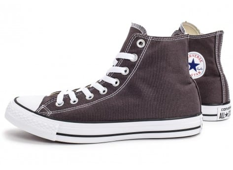 Chaussures Converse Chuck Taylor All-Star Mid grise vue extérieure