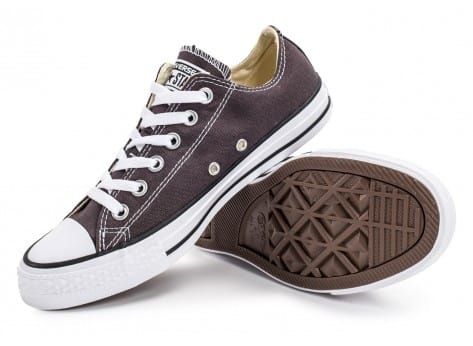Chaussures Converse Chuck Taylor All-Star Low OX grise vue avant
