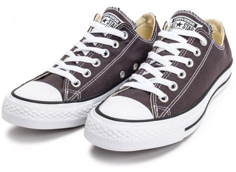Chaussures Converse Chuck Taylor All-Star Low OX grise vue intérieure