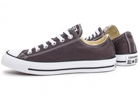 Chaussures Converse Chuck Taylor All-Star Low OX grise vue extérieure