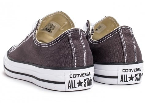 Chaussures Converse Chuck Taylor All-Star Low OX grise vue dessus