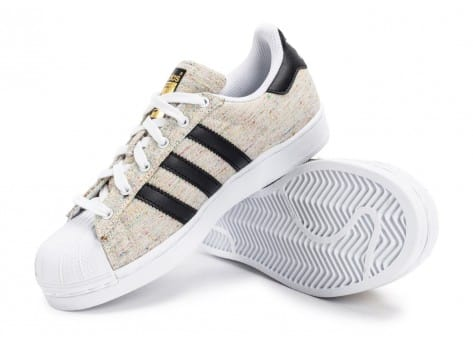 Chaussures adidas Superstar Core Junior beige vue avant