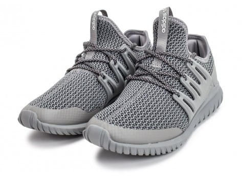 Chaussures adidas Tubular Radial Junior grise vue intérieure