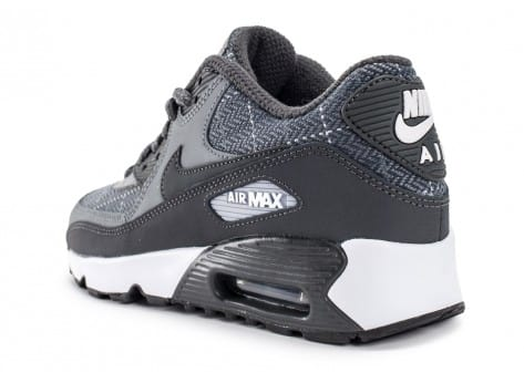 Chaussures Nike Air Max 90 SE Wool grise vue arrière