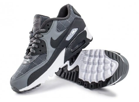 Chaussures Nike Air Max 90 SE Wool grise vue intérieure