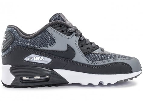 Chaussures Nike Air Max 90 SE Wool grise vue dessous