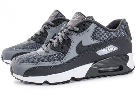 Chaussures Nike Air Max 90 SE Wool grise vue extérieure