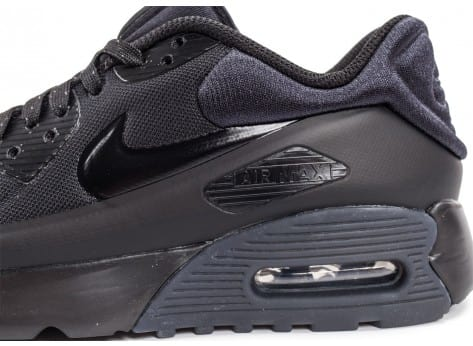 Chaussures Nike Air Max 90 Ultra SE Junior noire vue dessus