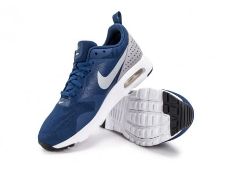 Chaussures Nike Air Max Tavas SE Junior bleue vue avant