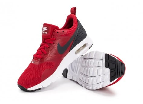 Chaussures Nike Air Max Tavas SE Junior rouge vue avant