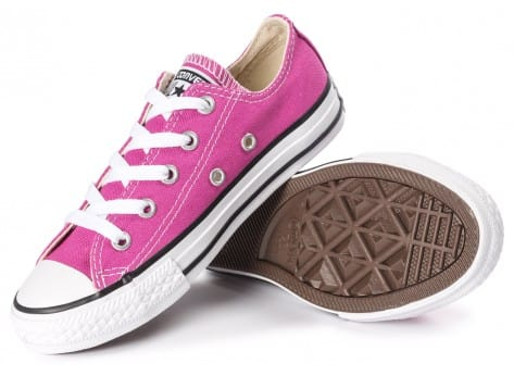 Chaussures Converse Chuck Taylor All-Star OX Enfant rose vue intérieure