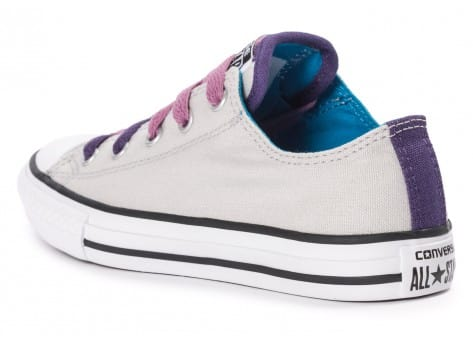 Chaussures Converse Chuck Taylor All-Star Loophole grise vue arrière