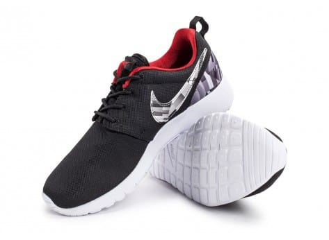 Chaussures Nike Roshe One Print grise vue avant