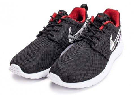 Chaussures Nike Roshe One Print grise vue intérieure