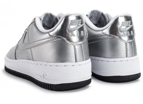 Chaussures Nike Air Force 1 SE Silver Pack vue dessous