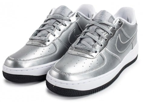 Chaussures Nike Air Force 1 SE Silver Pack vue intérieure