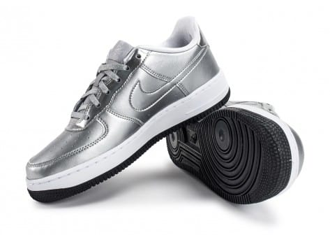 Chaussures Nike Air Force 1 SE Silver Pack vue avant
