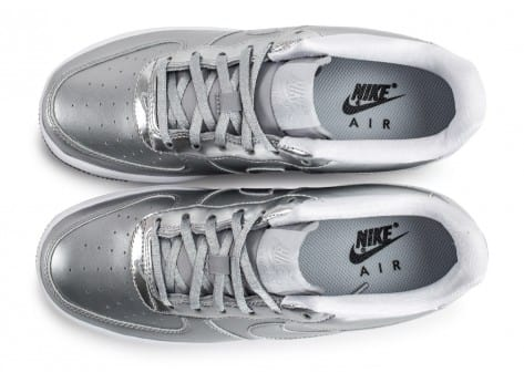 Chaussures Nike Air Force 1 SE Silver Pack vue arrière