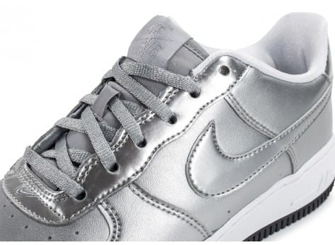 Chaussures Nike Air Force 1 SE Silver Pack vue dessus