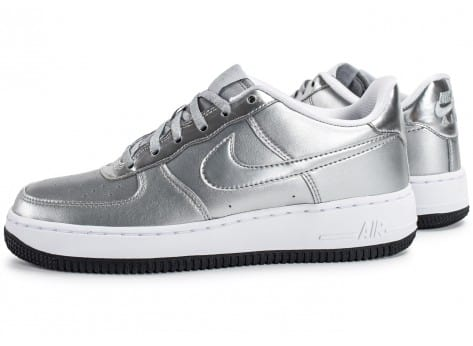 Chaussures Nike Air Force 1 SE Silver Pack vue extérieure