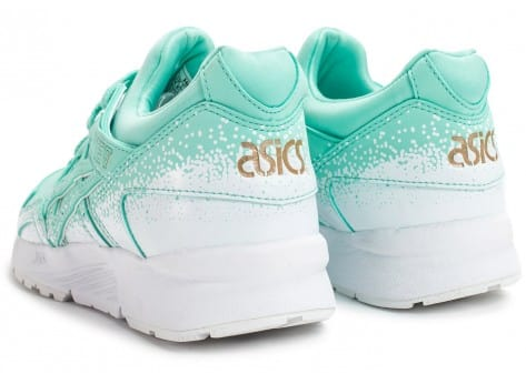 Chaussures Asics Gel Lyte V Snowflake W turquoise vue dessous