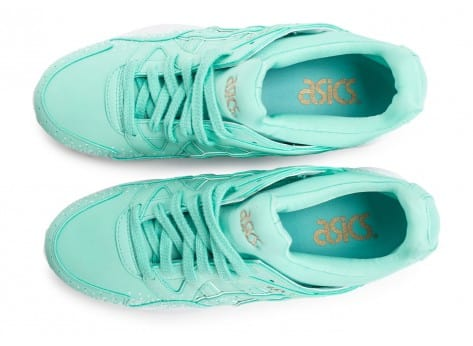 Chaussures Asics Gel Lyte V Snowflake W turquoise vue intérieure