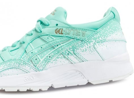 Chaussures Asics Gel Lyte V Snowflake W turquoise vue arrière