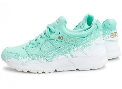 Chaussures Asics Gel Lyte V Snowflake W turquoise vue extérieure