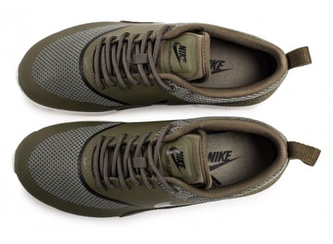 Chaussures Nike Air Max Thea olive vue arrière