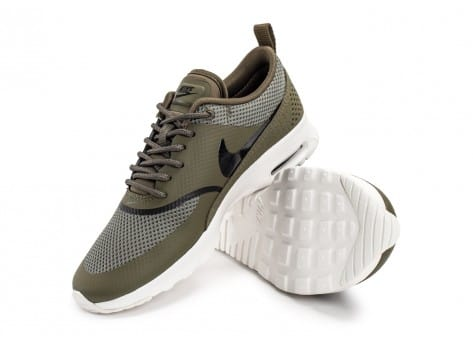 Chaussures Nike Air Max Thea olive vue avant