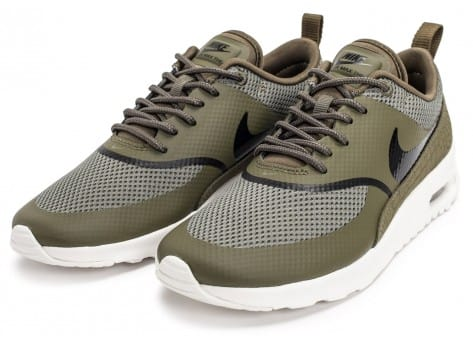 Chaussures Nike Air Max Thea olive vue intérieure