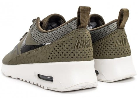 Chaussures Nike Air Max Thea olive vue dessous