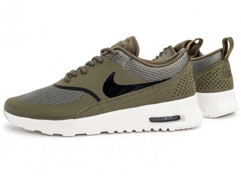Chaussures Nike Air Max Thea olive vue extérieure
