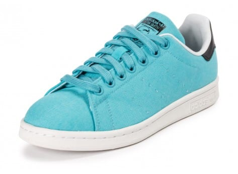 Chaussures adidas Stan Smith W Blanch Sky BBQ vue avant
