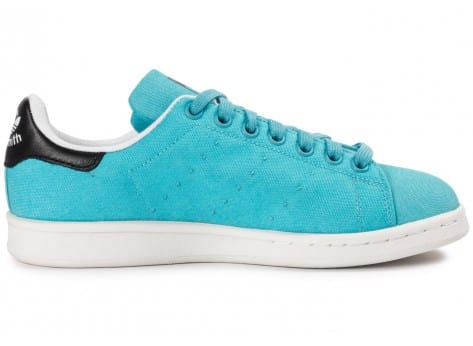 Chaussures adidas Stan Smith W Blanch Sky BBQ vue dessous