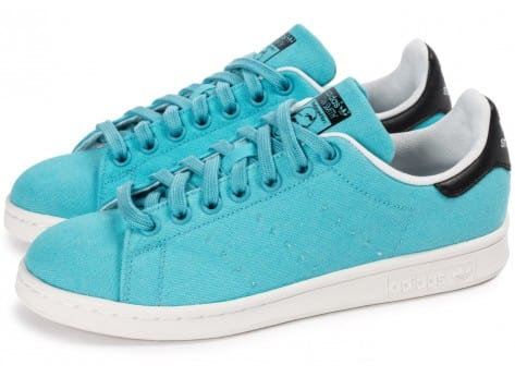 Chaussures adidas Stan Smith W Blanch Sky BBQ vue extérieure