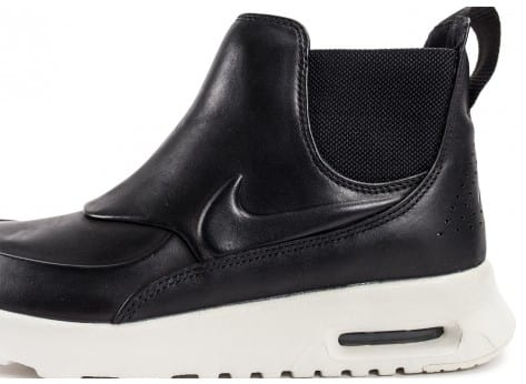 Chaussures Nike Air Max Thea Mid noire vue dessus