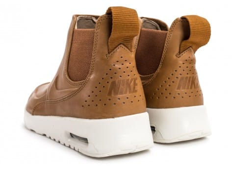 Chaussures Nike Air Max Thea Mid Ale Brown vue dessous