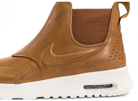 Chaussures Nike Air Max Thea Mid Ale Brown vue dessus
