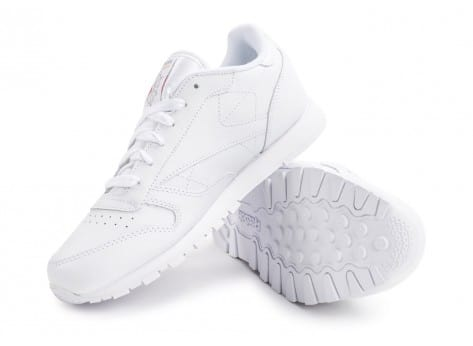 Chaussures Reebok Classic Leather Triple blanc vue avant