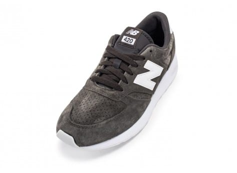 Chaussures New Balance 420 Re-Engineered Suede gris vue avant