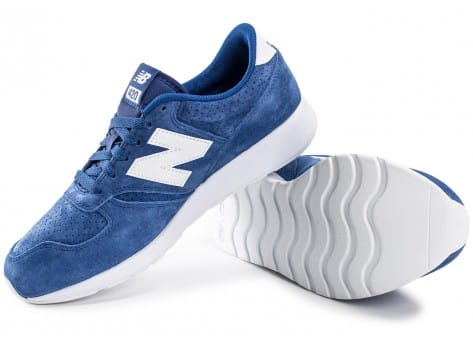 Chaussures New Balance 420 Re-Engineered Suede bleue vue intérieure