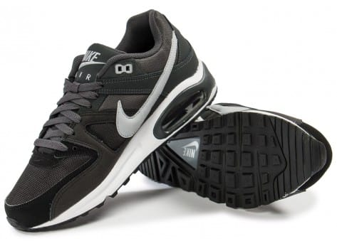 Chaussures Nike Air Max Command gris anthracite vue intérieure