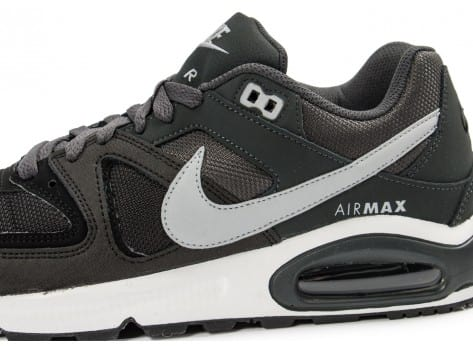Chaussures Nike Air Max Command gris anthracite vue dessus