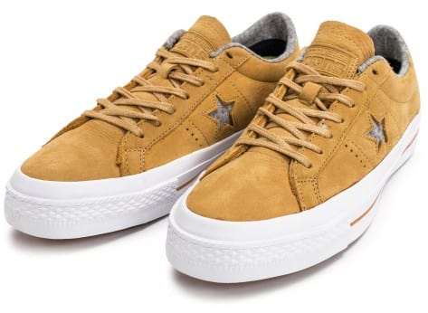 Chaussures Converse One Star Nubuck soba vue intérieure