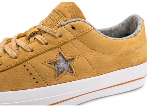 Chaussures Converse One Star Nubuck soba vue dessus