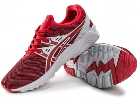 Chaussures Asics Gel Kayano Trainer Evo rouge vue intérieure