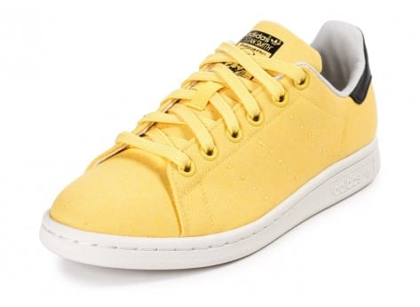 Chaussures adidas Stan Smith W Spring Yellow BBQ vue arrière